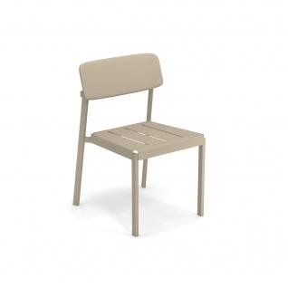 Emu Shine Gartenstuhl • 4 Stück • Essstuhl aus Aluminium