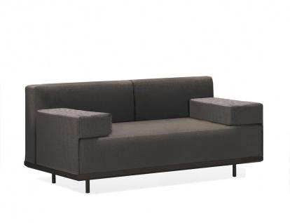 Royal Botania Red Label Lazy Lounge Sofa 80 x 160 cm mit breiten Armlehnen