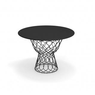 Emu Re-Trouvé Gartentisch • Outdoor Esstisch Ø 105 cm • Stahl, beschichtet