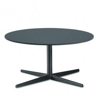 Lapalma Auki Loungetisch rund / Kaffeetisch rund Ø 60 cm / weiß oder schwarz
