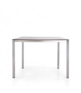 Todus Puro Esstisch 100 × 100 cm, HPL oder Keramikplatte