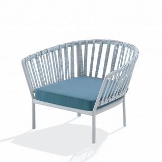 Fast Ria Loungesessel mit Geflecht inkl. Sitzpolster