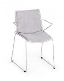 Weishäupl Racket Sessel mit Armehnen, stapelbar - Vorschau 2
