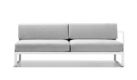 Sit Loungesofa Endmodul links 178 cm von Bivaq