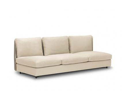 Roda Double Gartensofa 3-Sitzer • Loungemodul 001 + 004 • 225 × 94 cm