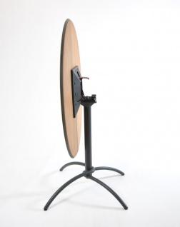 Fischer Möbel Bistrotisch Taku 80 × 80 cm quadratisch, klappbar - Vorschau 2