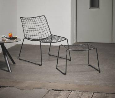 Weishäupl Racket Sessel mit Armehnen, stapelbar - Vorschau 3
