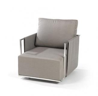 Suite Lounge Sessel 70 x 80 cm mit Hocker von Fischer Möbel - Vorschau 2