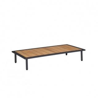 Alexander Rose Beach Loungetisch 122 cm mit Roble Tischplatte