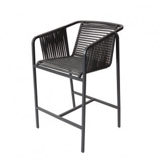 Fischer Möbel Suite High Dining Sessel exkl. Sitzauflage • Geflecht granite - Vorschau 1