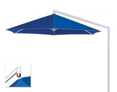 Sonnenschirm Rialto von May, sechseckig 400 cm, Typ RP, ohne Volant