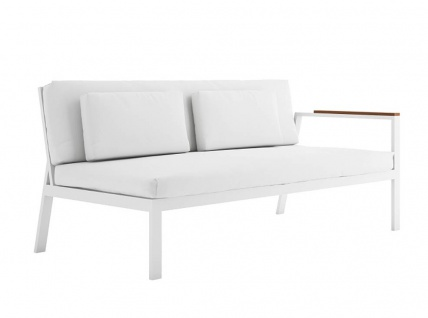 Timeless Loungesofa 1 • Gartensofa rechts 175 × 84 cm von GANDIA BLASCO