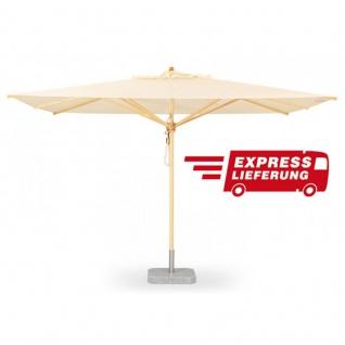 Sonnenschirm Klassiker von Weishäupl quadratisch 300 cm - Express Lieferung
