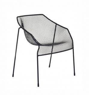 2 Stück • Emu Heaven Gartenstuhl • Outdoor Essstuhl 69 cm • Stahl / Drahtgitter