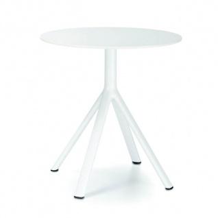 Lapalma Fork Gartentisch Ø 80 cm rund / 2 verschiedene Tisch-Höhen zur Auswahl