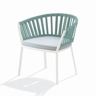 Fast Ria Loungestuhl mit Geflecht inkl. Sitzpolster