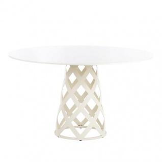 Point Dalmatia Gartentisch mit Keramikplatte • Esstisch Ø 130 cm