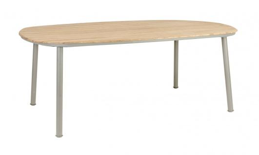 Alexander Rose Cordial Esstisch 200 x 120 cm mit Roble-Tischplatte