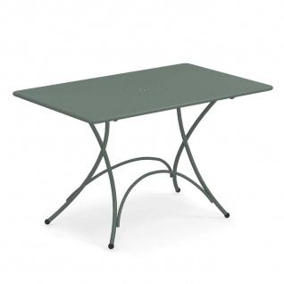 Emu Pigalle Gartentisch • Outdoor Klapptisch 118 × 76 cm • Stahl, beschichtet