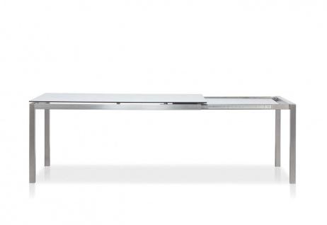 Todus Puro Ausziehtisch 160/240 × 100 cm, HPL oder Keramikplatte
