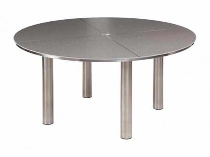 Gartentisch Equinox mit Keramik Tischplatte Ø 150 cm von Barlow Tyrie