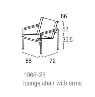 Knoll Studio, 1966 Collection Lounge Sessel - Vorschau 3