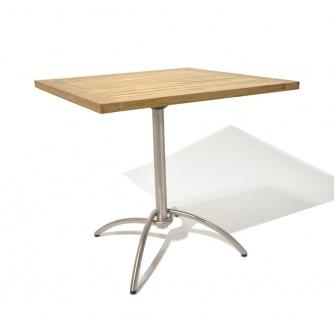 Fischer Möbel Bistrotisch Taku 80 × 80 cm quadratisch, klappbar