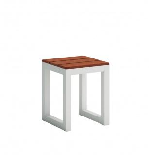 SALER SOFT Teak Gartenhocker 34 × 34 cm von GANDIA BLASCO