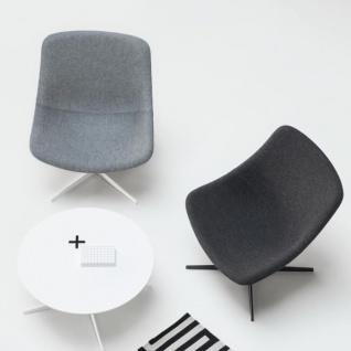 Lapalma Auki Loungetisch / Kaffeetisch quadratisch 80 x 80 cm / weiß oder schwarz - Vorschau 3