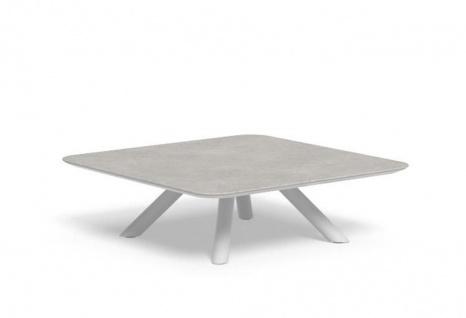 Talenti CORAL Loungetisch mit Keramikplatte 100 × 100 cm