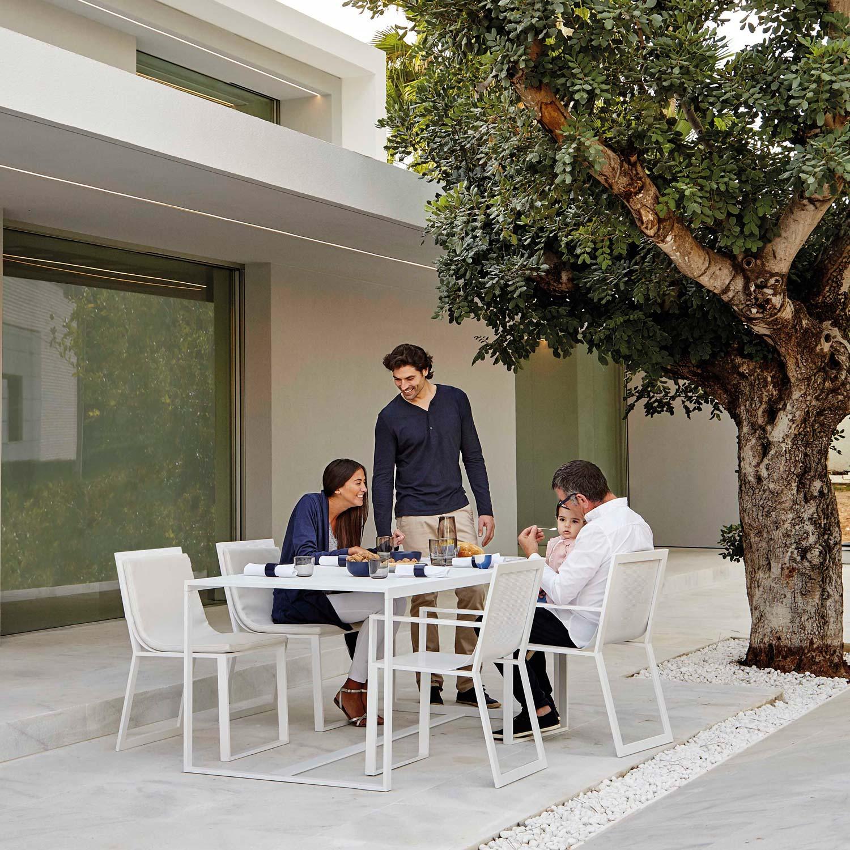 Blau Gartentisch 90 90 Cm Von Gandia Blasco Kaufen Bei Villa