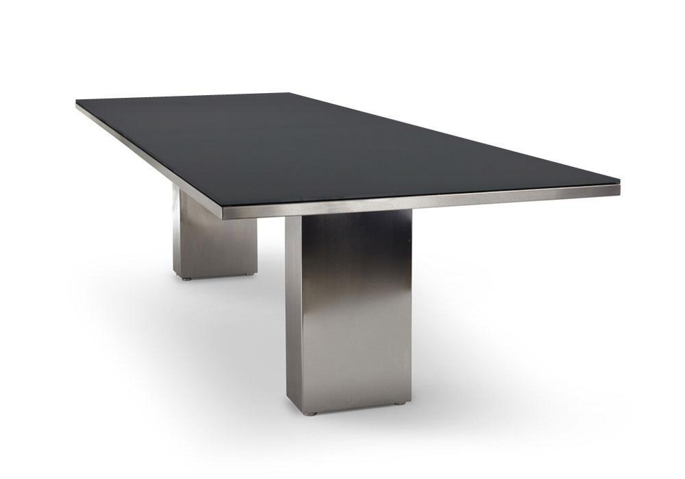 Gartentisch Cima Dining Doble 300 Cm Rechteckig Mit Glasplatte Von