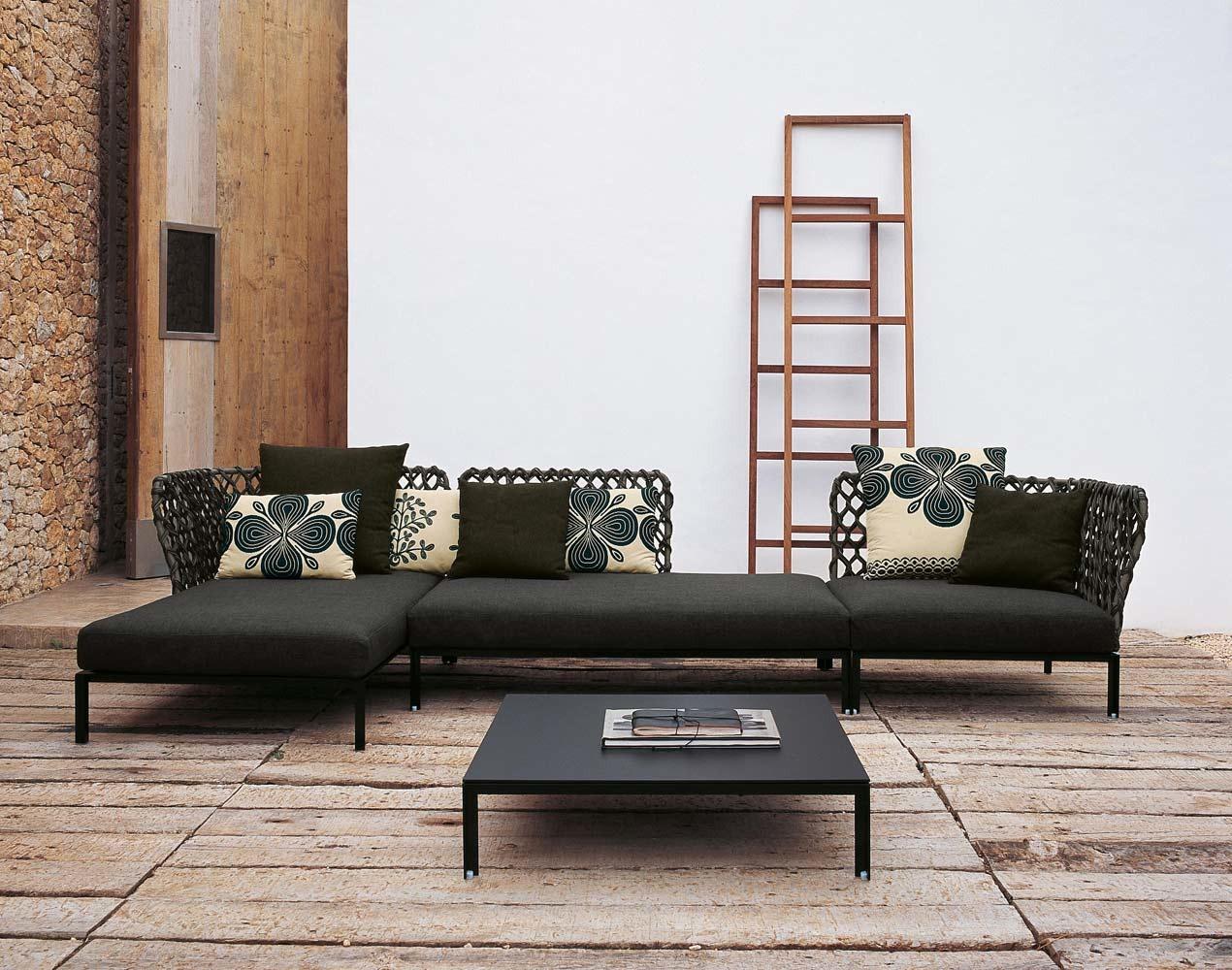 B&B Italia Ravel modulierbares Sofa, Abschlusselement links 158, 5 ...