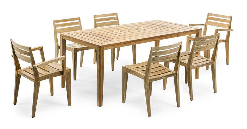 Ethimo Ribot Gartenstühle stapelbar (2 Stück) - Kaufen bei Villa ...