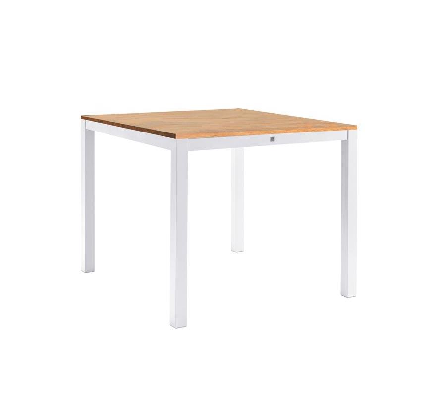 Sifas Kwadra Esstisch 100 Cm Inkl Synteak Tischplatte Kaufen Bei