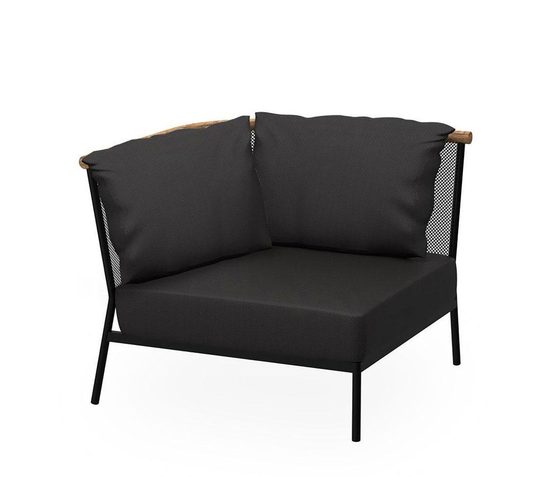 Wunderschön Gartensofa Galerie Von Oasiq Riad Eckmodul • Loungemodul 91 Cm