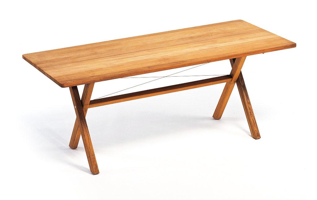 Gartentisch klappbar  Weishäupl Cross Gartentisch, klappbar 180 × 80 cm - Kaufen bei Villa ...