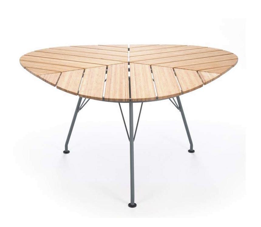 Gartentisch Dreieckig.Houe Leaf Dreieckiger Gartentisch Outdoor Esstisch 146 146 Cm