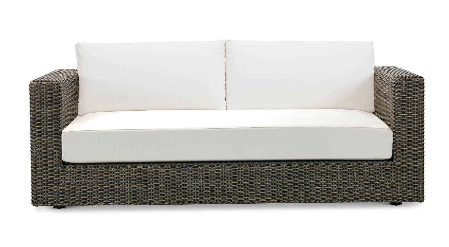 Ethimo Cube 3 Sitzer Lounge Sofa Kaufen Bei Villa Schmidt Gmbh