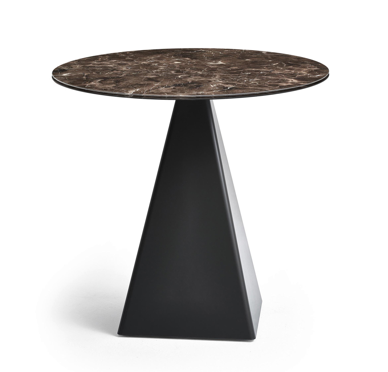Varaschin Tower Gartentisch Gestell 40 40 Cm Marmor Tischplatte O