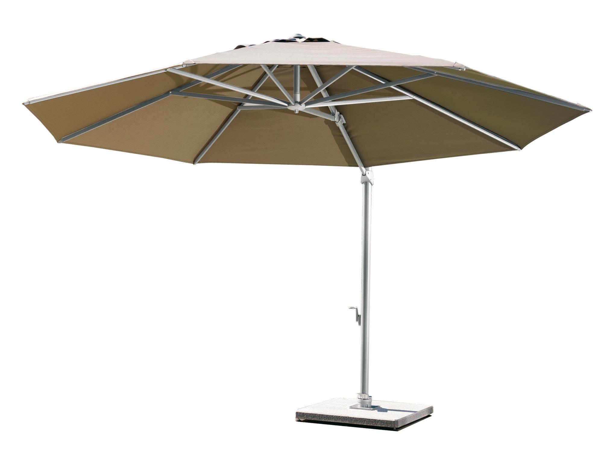 Freiarm Sonnenschirm Von Weishaupl Rund 350 Cm Kaufen Bei Villa