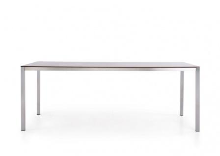 Todus Puro Esstisch 180 × 100 cm, HPL oder Keramikplatte
