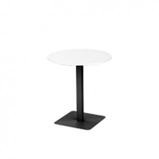 VITEO FLEX Gartentisch niedrig Ø 70 oder 70 × 70 cm