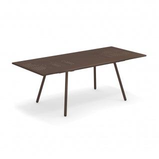 Emu Bridge Gartentisch ausziehbar 160-210 cm • Esstisch mit Metall Tischplatte