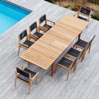 OASIQ SKAGEN ausziehbarer Gartentisch 234-347 × 100 cm - Vorschau 2
