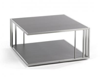 Fischer Möbel Suite Beistelltisch 80 x 80 cm