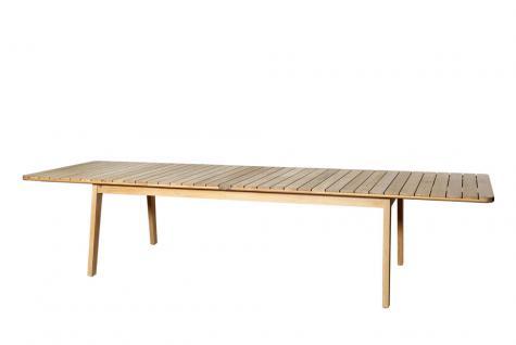 OASIQ SKAGEN ausziehbarer Gartentisch 234-347 × 100 cm