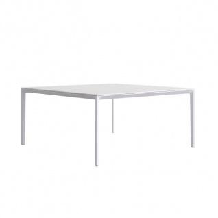 Lapalma Add T Gartentisch / Esstisch 130 x 130 cm / weiß oder schwarz