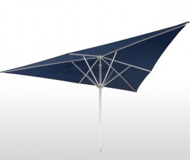 Sonnenschirm Schattello von May, dreieckig 400 x 400 x 400 cm ohne Volant