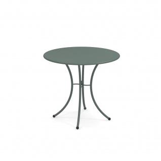 Emu Pigalle Gartentisch • Outdoor Esstisch Ø 80 cm • Stahl, beschichtet